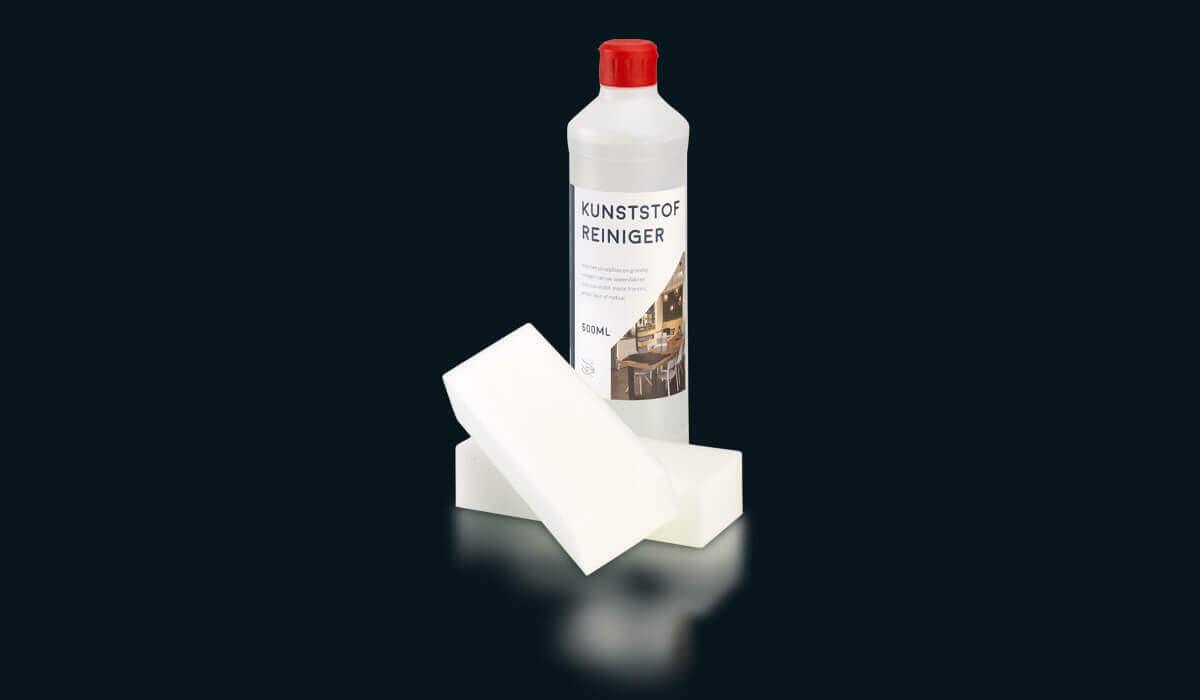 MiMa - Kunststofreiniger - Fles met spons